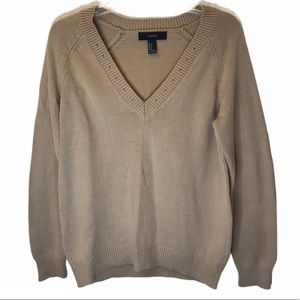 Forever 21 V-Neck Pullover Sweater